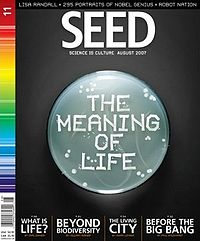 Seed Magazine Cover, August 2007 (vol. 11)